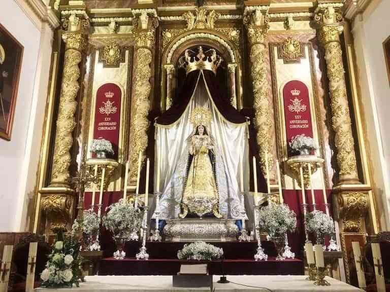 El altar de la Virgen de Gracia en Puertollano puede visitarse hasta el 17 de septiembre
