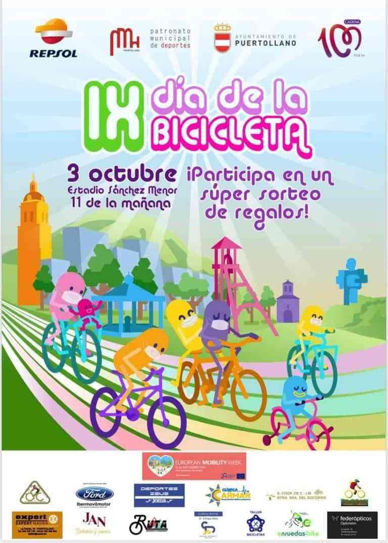 IX Día de la Bicicleta en Puertollano este domingo 3 de octubre con entrada abierta y gratuita
