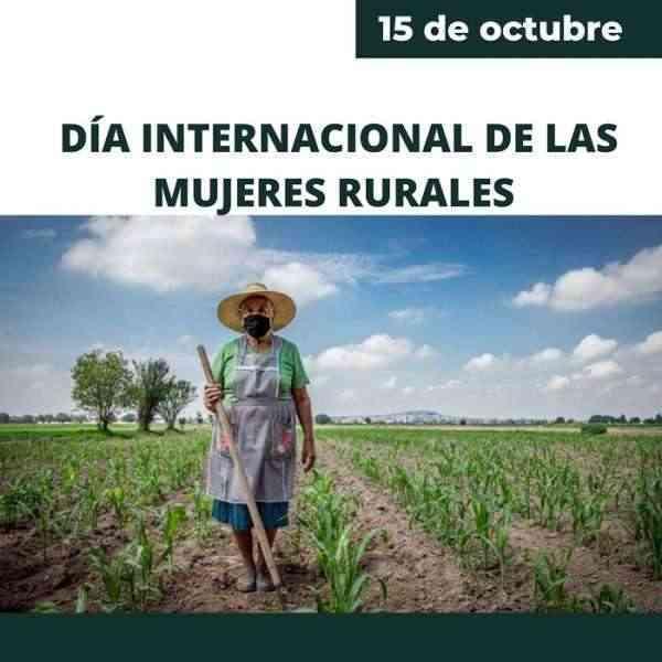 Taller sobre móviles, apertura de la programación por el Día de la Mujer Rural