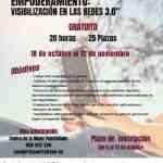 Taller de igualdad digital y visibilización en las redes 3.0 del 18 de octubre al 12 de noviembre en Puertollano